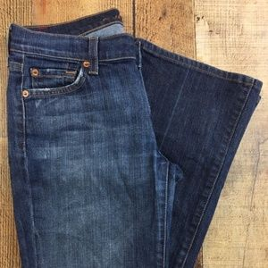 7 for all mankind Boot Cut Medium Wash Jeans DV04